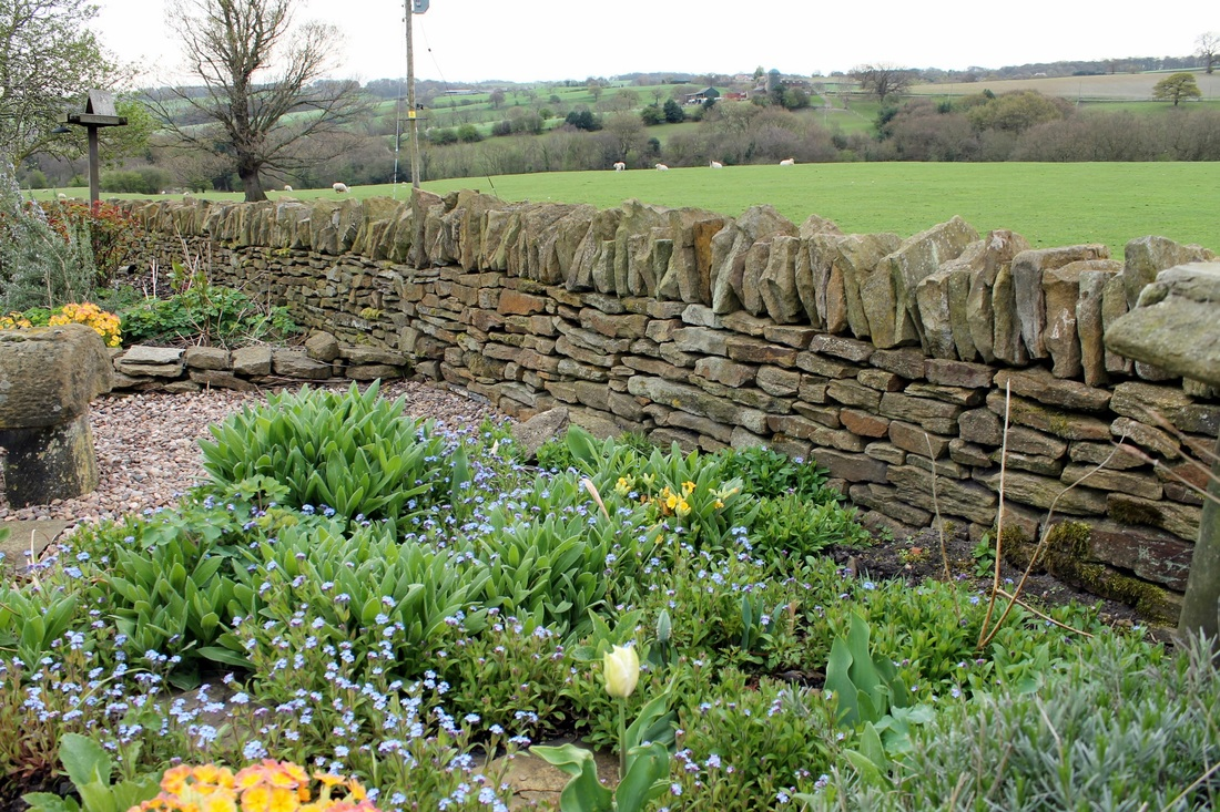... For The Garden By Restoring A Low Retaining Wall By The Gate That Could  Be Dug Over And Gave More Garden. The Toppers For The Retaining Wall Were  Old ...